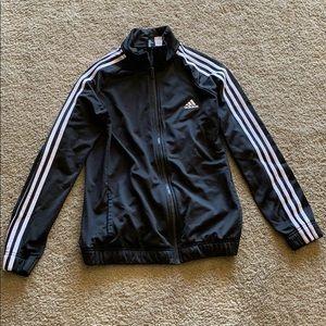 Adidas black zip up jacket